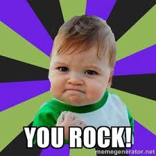 You Rock Meme - you rock meme kid face picture punjabigraphics com