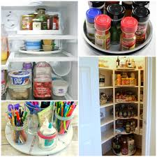 how to organize a lazy susan cabinet 15 clever ways to get organized with a lazy susan