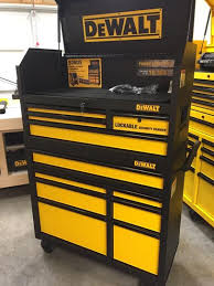 home depot black friday tool chest dewalt 40 in 11 drawer rolling bottom tool cabinet and top tool
