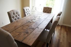 rustic solid wood dining table rustic farmhouse dining room tables rustic solid wood dining room