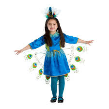 Peacock Halloween Costume Girls Amazon Kid U0027s Proud Peacock Costume Dress America Clothing