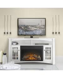 Electric Fireplace Entertainment Center Amazing Deal Napoleon The Adele 56 In Electric Fireplace