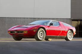 maserati red and black 1971 1978 maserati bora review supercars net