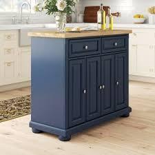 blue kitchen island cabinets antonella kitchen island solid wood