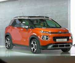 2017 citroen c3 aircross front three quarters right side indian