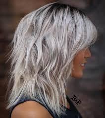 gray shag haircuts 80 sensational medium length haircuts for thick hair long grey