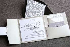 silver wedding invitations silver wedding invitations pocketfold wedding invites formal