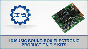 16 music sound box electronic production diy kits youtube