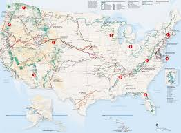 Northwest Florida Map by Long Distance Hiking Trails