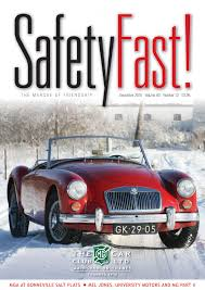 safety fast december 2016 by mg car club issuu