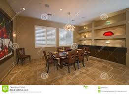 No Chandelier In Dining Room Recent Lit Of Chandelier Hanging Dining Table In Spacious