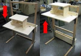 diy adjustable standing desk diy standing desk is the best sit stand desk is the best adjustable