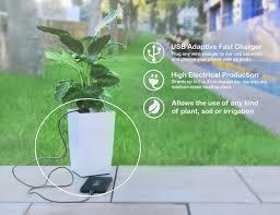 bioo lite plant pot charger gadget flow