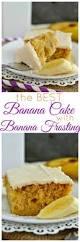 best 25 banana frosting ideas on pinterest banana cream cakes