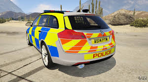 vauxhall insignia estate police vauxhall insignia estate for gta 5