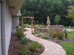 Yard Walkways Landscaping Design Of Patios Walkways And Paths In Appleton Wi