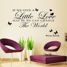 Bedroom Wall Letter Stickers Wall Sticker English Writing Removable Decals Showcase Home Decor