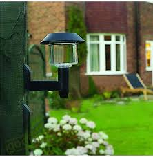 Solar Lights Fence - solar lamps outdoor solar powered panel 4 led lighting pathway up