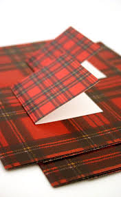 tartan wrapping paper luxury scottish gift wrap and tags set by scotweb