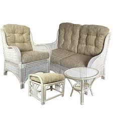 White Rattan Sofa Color White Rattan Furniture Collection On Ebay