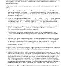 printable addendum residential rental agreement template sample