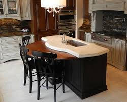 Wood Tops For Kitchen Islands Wooden Kitchen Island Top Traditional Kitchen Atlanta By J