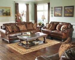 Ashley Furniture Leather Loveseat Ashley Leather Sofa And Loveseat Descargas Mundiales Com