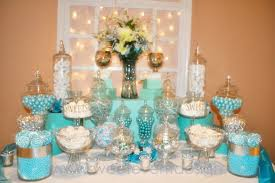 blue candy buffet ideas wedding ideas tiffany blue with a touch