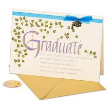 papyrus calligraphy and graduation card with ribbon target