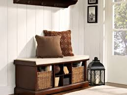 Entry Shoe Storage by Furniture Entryway Bench And Coat Rack Wooden Bench With