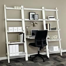 Bookcase Desk Diy Desk Diy Bookshelf And Desk White Linea Leaning Desk Bookshelf