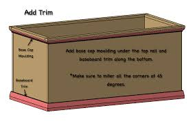 Plans For Building A Toy Chest by Free And Easy Hope Chest Plans Rogue Engineer