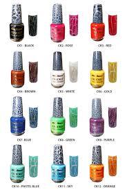 terribly haute beauty china glaze crackle nail polish ganjのブログ