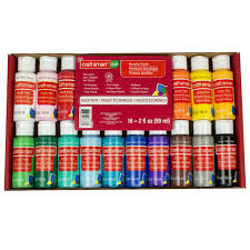 buy the acrylic paint value pack by craft smart at michaels