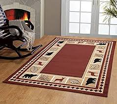 Moose Area Rugs Rugs Home Furnishmyplace Wildlife Moose Rustic