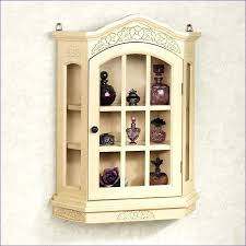 Kitchen Curio Cabinet Wall Hanging Curio Cabinet Fancy Wall Mounted Curio Cabinet