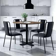 table de cuisine pied central table cuisine avec tabouret table ronde pour cuisine en stratifiac