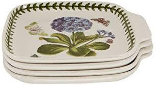 portmeirion botanic garden canape dishes set of 4