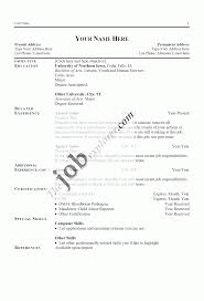 Attractive Resume Format For Experienced Resume Definition Job Resume For Your Job Application