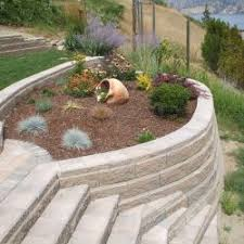 Sloping Backyard Ideas Build Into A Sloping Yard Pond And Patio Ideas Pinterest