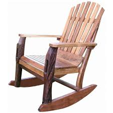 furniture creative pictures of log rocking chairs in home