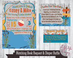 fishing themed baby shower fishing baby shower etsy