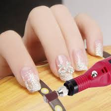 amazon com dragonpad nail art drill kit electric file buffer bits