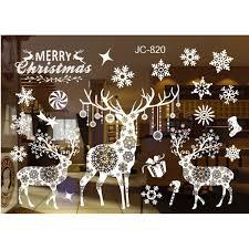 diy home window glass christmas xmas sticker wall decals