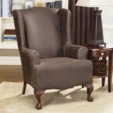bedroom astonishing wing chair recliner slipcover for elegant