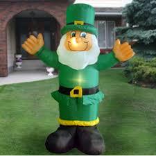 st patricks day airblown 6 ft leprechaun great