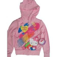 kitty graphic hoodie jacket