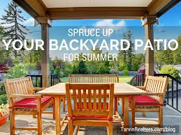 spruce up your backyard patio u0026 outdoor spaces for summer