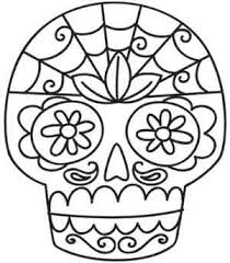 sugar skull threads unique and awesome embroidery designs