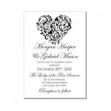 Printable Wedding Invitations Free Printable Wedding Invitation Templates For Word Kmcchain Info